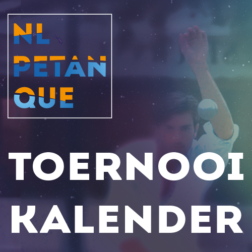 NL petanque toernooi kalender